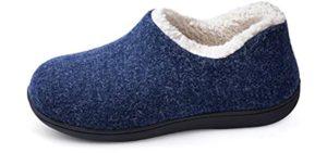 Ultraideas Women's Cozy - Cracked Heels Slippers