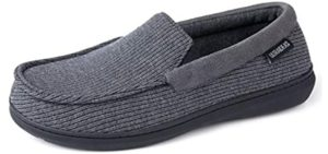 Ultraideas Men's Cozy - Cracked Heels Slippers
