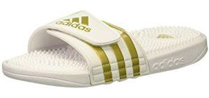 Adidas Men's Addisage - Slide Sandals for Runners