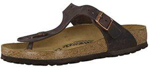 Birkenstock Men's Gizeh - Flat Feet Flip Flops