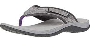 Merrell Women's J033726 - Walking Long Distances Flip Flops