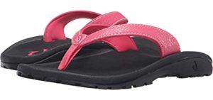 Olukai Girl's Kulapa - Flip Flops for Big Kids
