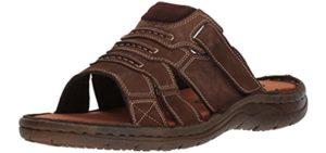 Propet Men's Pedic Walker - Leather Support Sandal