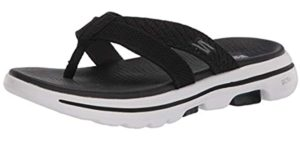 Skechers Women's Go Walk 5 - Sandals for Plantar Fasciitis