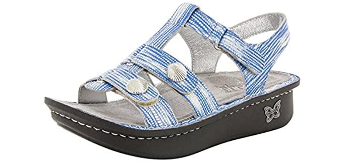 Alegria Women's Kleo - Gladiator Rocker Bottom Sandal