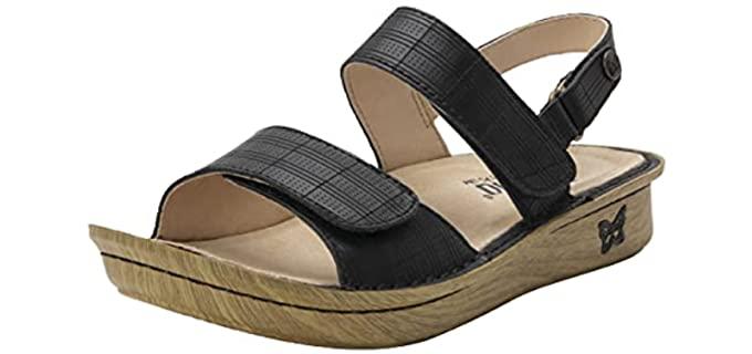 Allegria Women's Verona - Rocker Bottom Summer Sandal