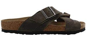 Birkenstock Men's Lugano - Cork Footbed Sandal