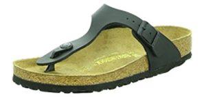Birkenstock Men's Gizeh - Cork Footbed Sandal