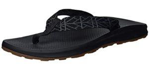 Chaco Men's Playa - Flip Flop for Narrow Feet