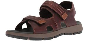 Clarks Men's Brixby - Casual Sandals for Europe