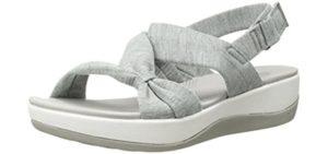Clarks Women's Arla Primrose - Sandal for Long Distance Walking