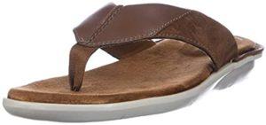 Clarks Men's Ellison - Fancy Flip Flop Sandal For Traveling