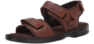 Clarks Men's Malone Shore - Casual Sandals for Walking in Europe