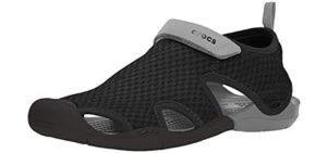 Crocs Women's Swiftwater - Sandals for Plantar Fasciitis