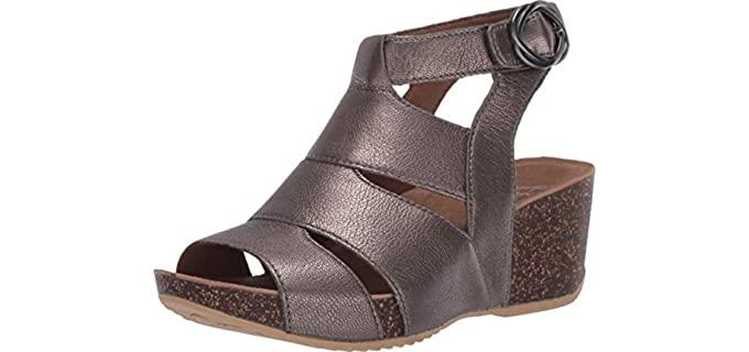 Dansko Women's Sera - High Wedge Sandals