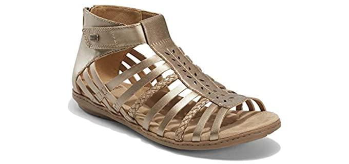 Earth Origins Women's Belle Bruna - Strappy Sandals