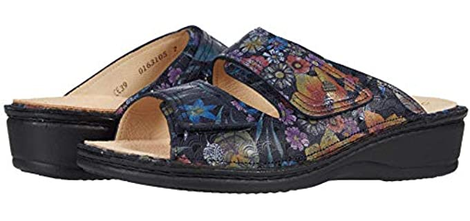 Finn Comfort Women's Jamaika - Most Comfortable Slide Sandals