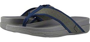 FitFlop Men's Surfa - Narrow Feet Flip Flops