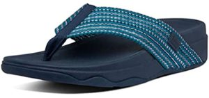 FitFlops Women's Surfa - Flip Flop for High Arches
