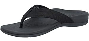 Irsoe Women's Casual - High Instep Support Flip Flop