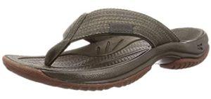 Keen Men's Kona - Sporty Flip Flop for Athlete's Foot