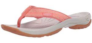 Keen Women's Kona - Sporty Flip Flop for Athlete's Foot