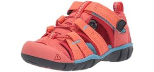 Keen Girls's Sea Camp 2 - Closed Toe Water Sandals for Toddlers
