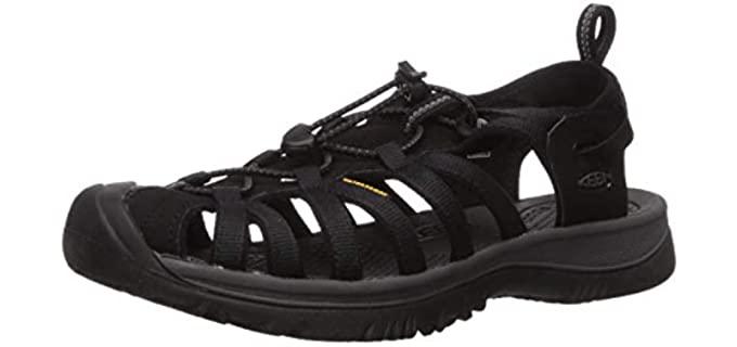 Keen Women's Whisper Slipper - Bunion Outdoor Sandals