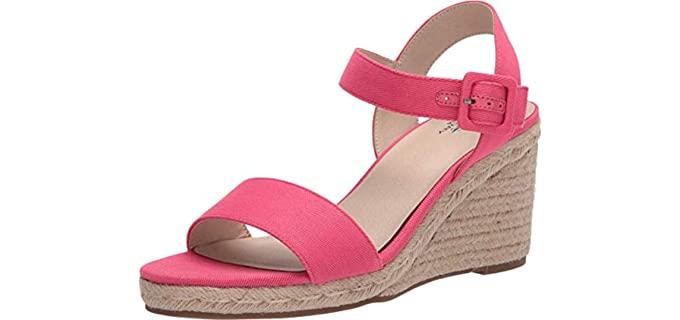 Lifestride Women's Tango - Wide Width Wedge Sandals