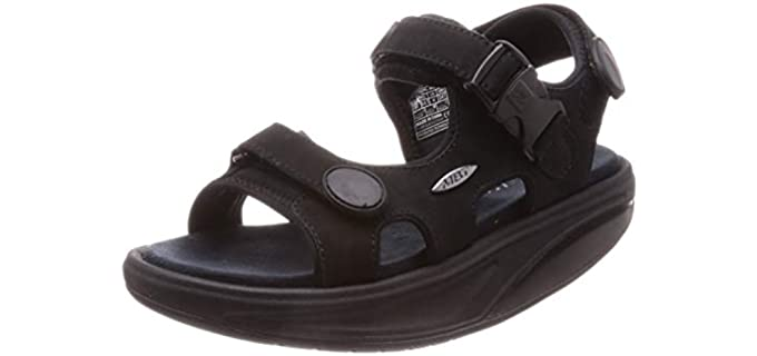 MBT Women's Flat - Rocker Bottom Sandal