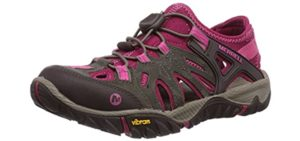 Merrell Women's All Out Blaze Sieve - Hiking Sandal for Backpacking