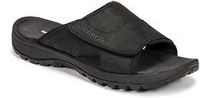 Merrell Men's Sandspur 2 - Leather Slide Sandals for Heavy Weights