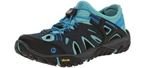 Merrell Women's All Out Blaze Sieve - Outdoor Sandals for Water