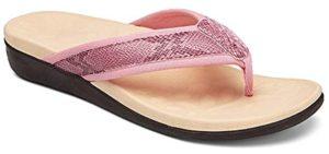 Megnya Women's Orthotic - Orthopaedic Flip Flops for Plantar Fasciitis