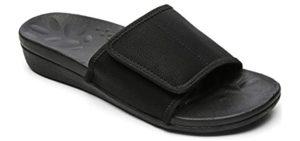 Megnya Women's Slide - Orthopedic Comfort Slide Sandal