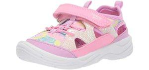 OshKosh Girls's B'Gosh Selene - mesh Uppers Toddlers Sandal