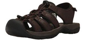 Propet Men's Kona - Sandal for Arthritic Feet