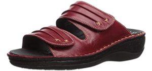 Propet Women's June - Wide Width Slide Sandal