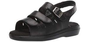 Propet Women's Breeze - Sandals for Heel Spurs