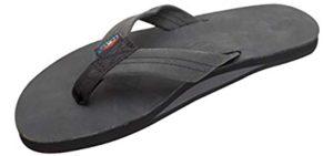 Rainbow Sandals Men's Double Layer - Wide Feet Flip Flop