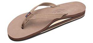 Rainbow Sandals Women's Double Layer - Wide Feet Flip Flop