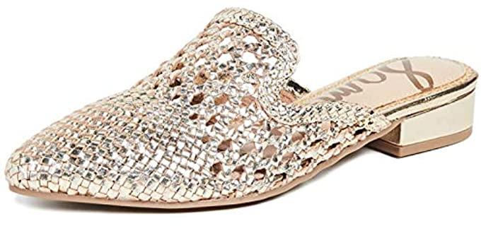 Sam Edelman Women's Clara - Mule Sandals for Long Toes