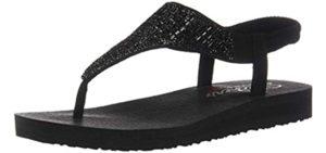 Skechers Women's Meditation Rock Crown - Minimalist Sports Sandal