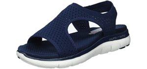 Skechers Women's Flex - Sports Sandal for Running