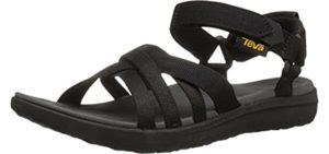 Teva Women's Sanborn - Outdoor Sandals for Flat Feet