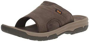 Teva Men's Langdon Slide - Leather Slide Sandal