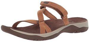 Teva Women's Elzada Slide Lea - Leather Slide Sandal