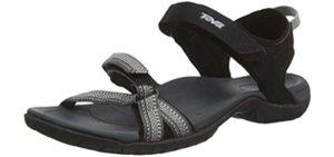 Teva Women's Verra - Open Toe Sports Sandal for Plantar Fasciitis