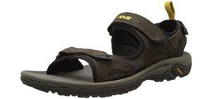 Teva Men's Katavi - Hallux Rigidus Sport and Hiking Sandals