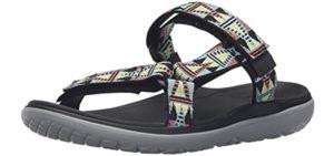 Teva Women's Terra Float Lexi - Closed Sandal for Hiking